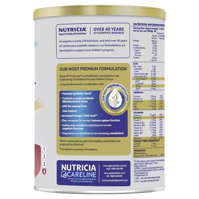Aptamil Profutura 4 Junior Nutritional Supplement 900g ( exp 8/21 )