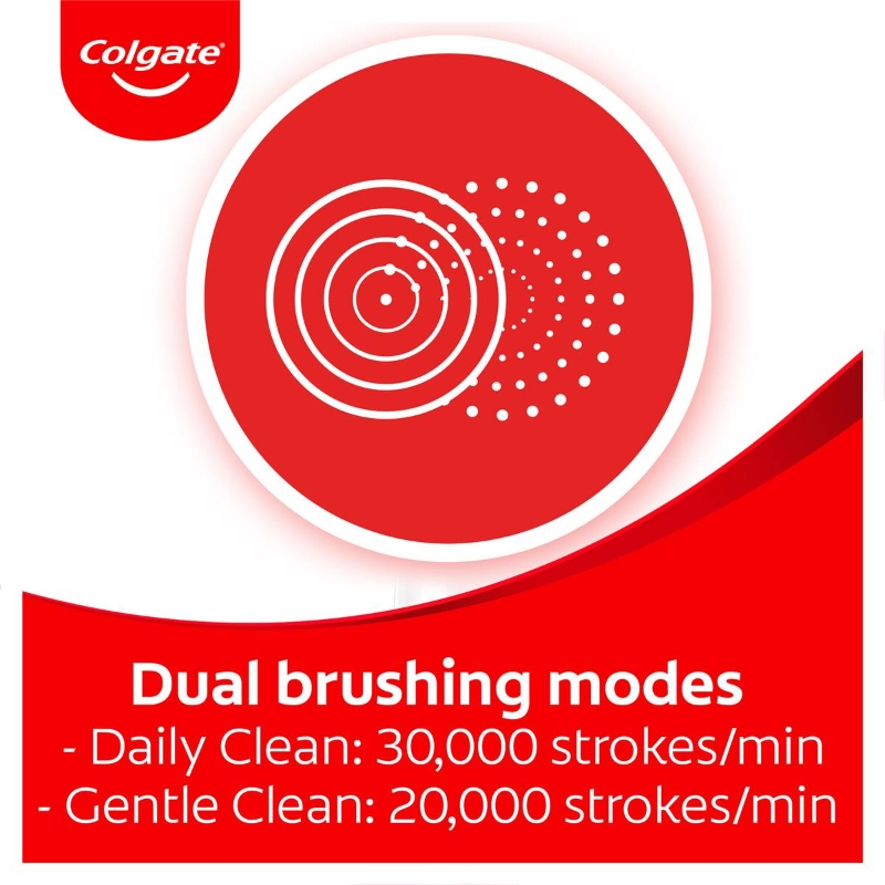 Colgate Proclinical 500r Whitening Sonic Electric Toothbrush 1 pack