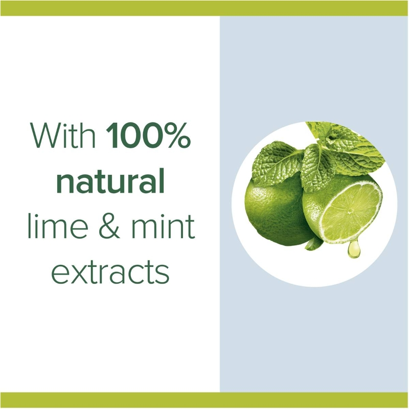 Nước rửa tay Palmolive Antibacterial Foaming Hand Wash Soap Lime Refill 500ml hương chanh