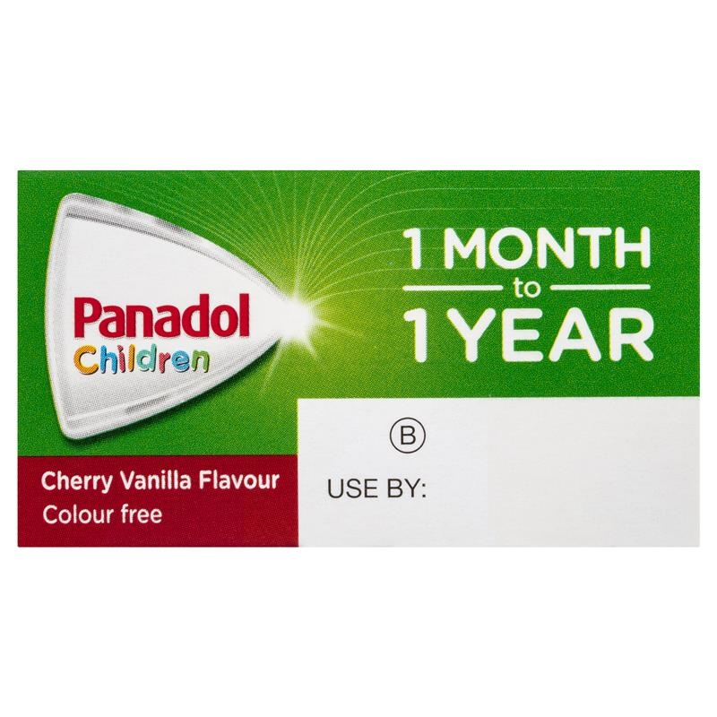 Thuốc hạ sốt giảm đau cho bé từ 1-12 tháng -Panadol Children 1 Month – 1 Year Baby Drops with Dosing Device, Fever and Pain Relief, 20mL