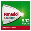 Siro hạ sốt, giảm đau cho bé từ 5 -12 tuổi Panadol Children 5-12 Years Suspension Fever & Pain Relief Strawberry Flavour 200mL
