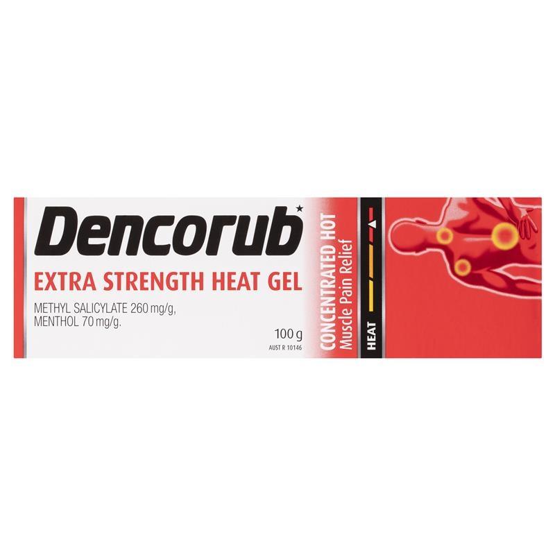 Gel nóng giảm đau Dencorub Extra Strength Heat Gel 100g