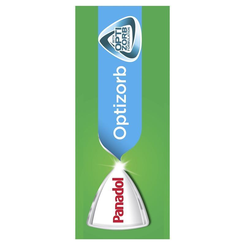Thuốc giảm đau - Panadol with Optizorb Paracetamol Pain Relief Caplets 20