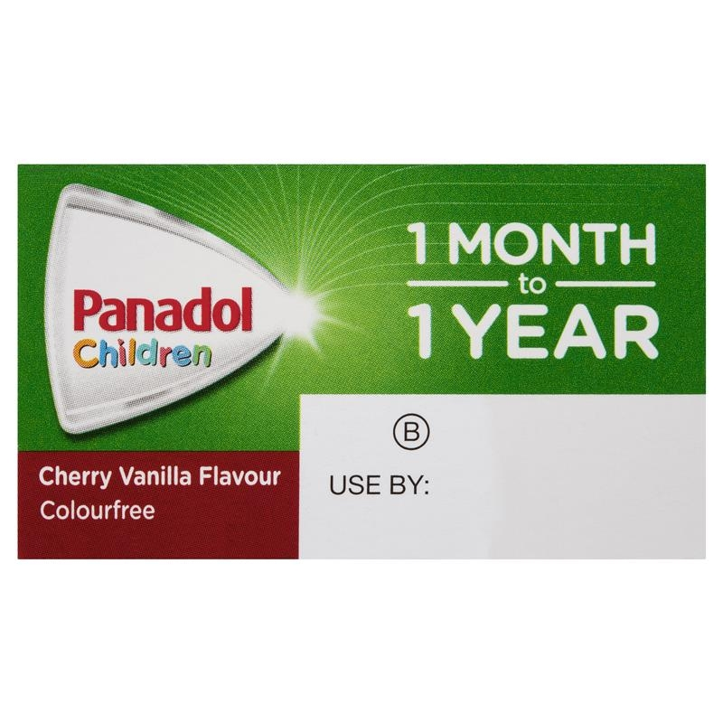 Hạ sốt, giảm đau cho trẻ từ 1 - 12 tháng dạng giọt - Panadol Children 1 Month – 1 Year Baby Drops with Dropper, Fever & Pain Relief, 20 mL