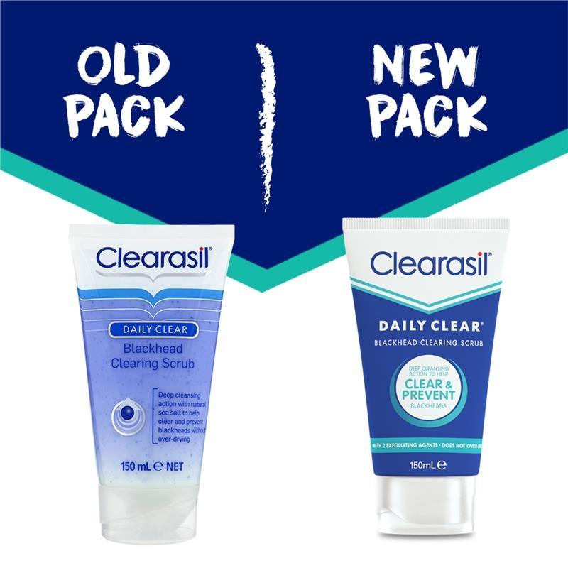 Clearasil Daily Clear Blackhead Clearing Scrub 150ml