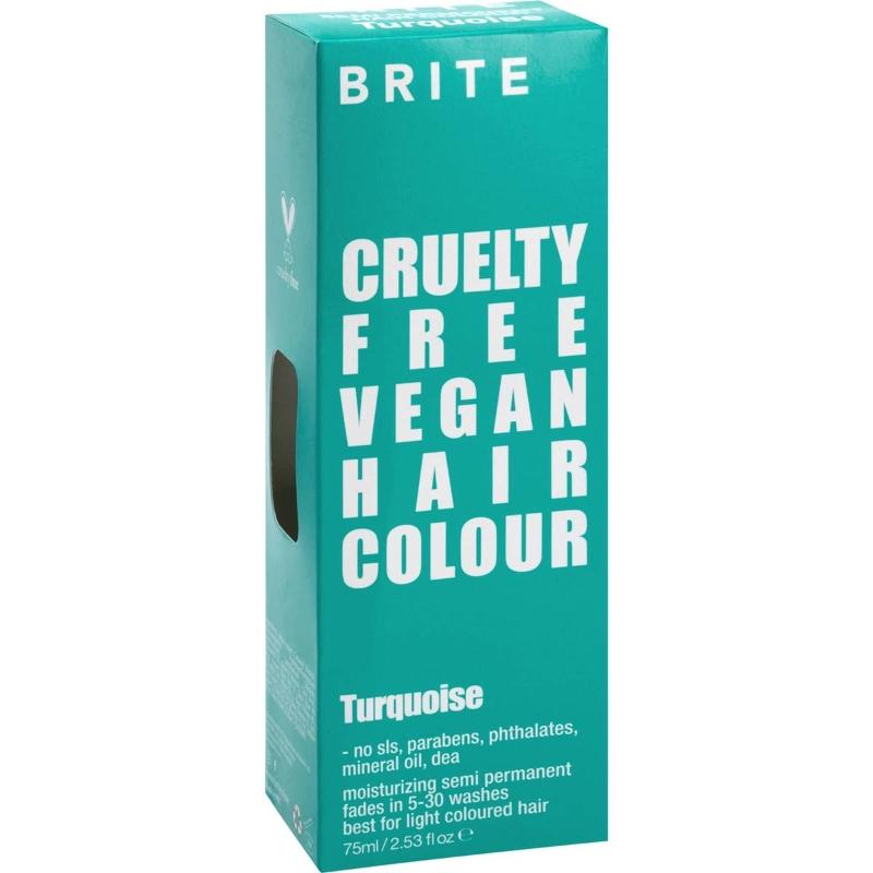 Brite Organix Semi Permanent Hair Colour Turquoise 75ml