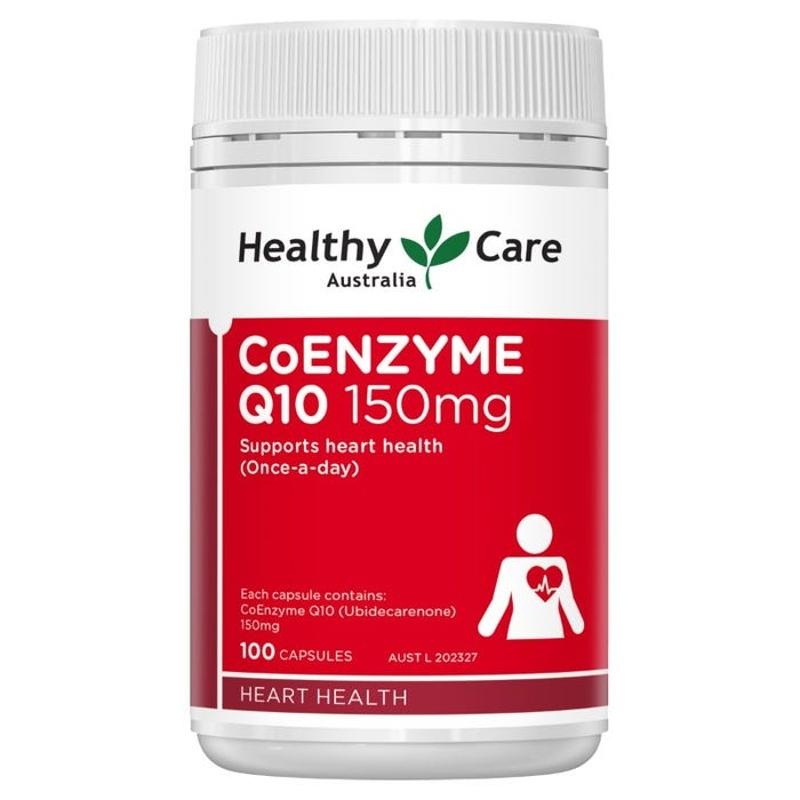 Healthy Care CoEnzyme Q10 150mg Cap X 100
