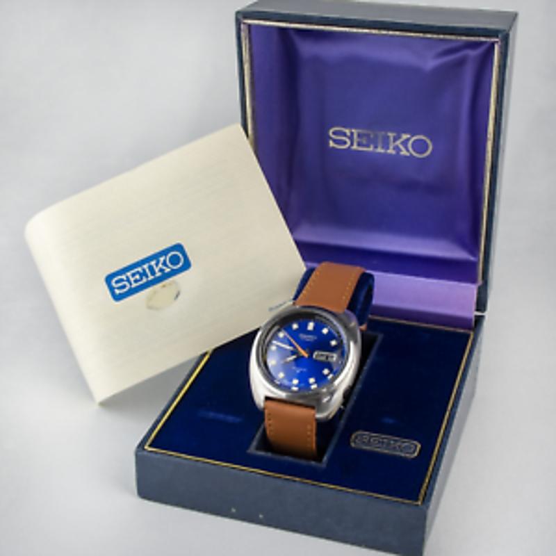 1974 Seiko Watch *Serviced* +Box&Papers 39mm 6106-8237 mens Swiss @WatchAdoption