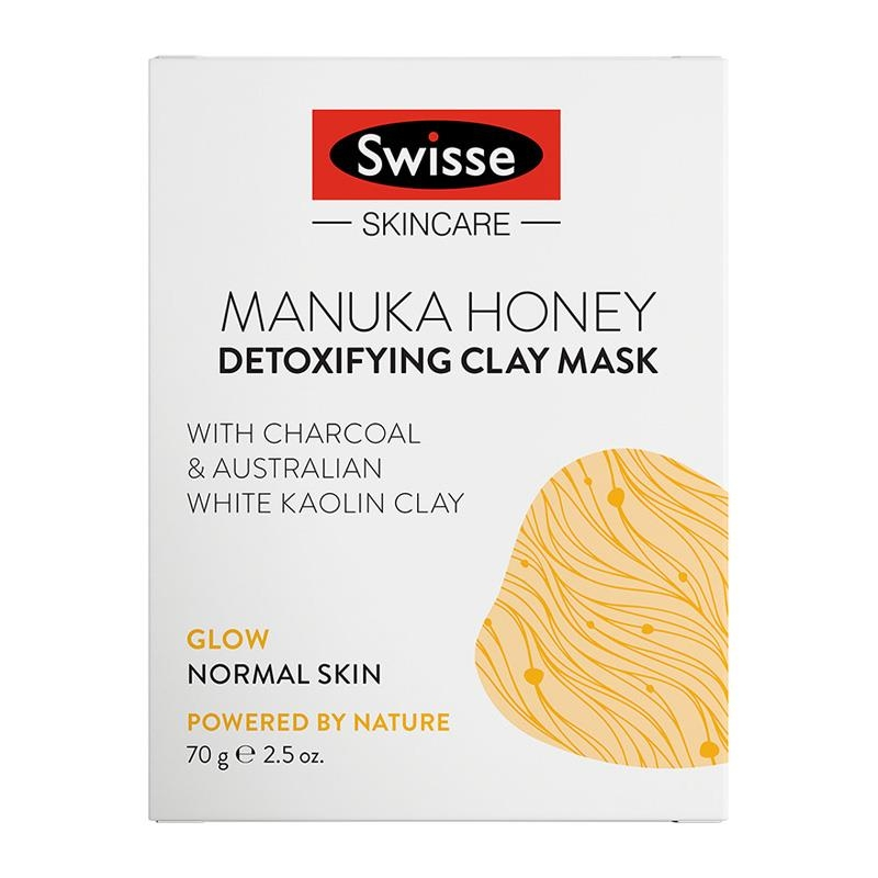 Mặt nạ Swisse Skincare Manuka Honey Detoxifying Facial Clay Mask 70g