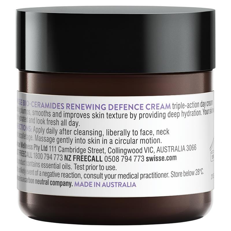 Kem dưỡng da ban ngày Swisse Skincare Bio Ceramide Renewing Defence Cream 50g