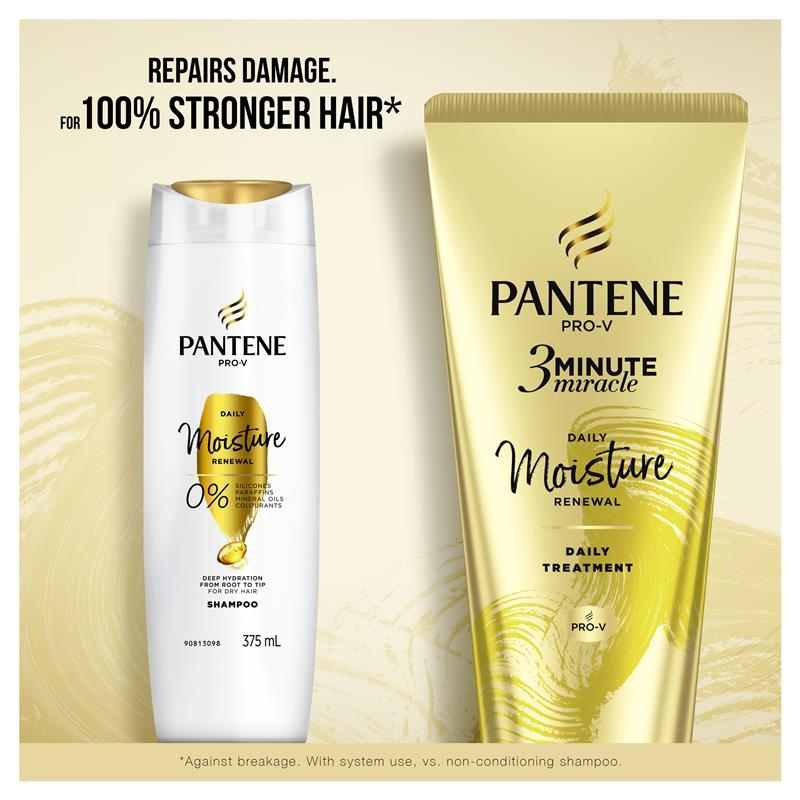 Pantene 3 Minute Miracle Daily Moisture Renewal Conditioner 180ml