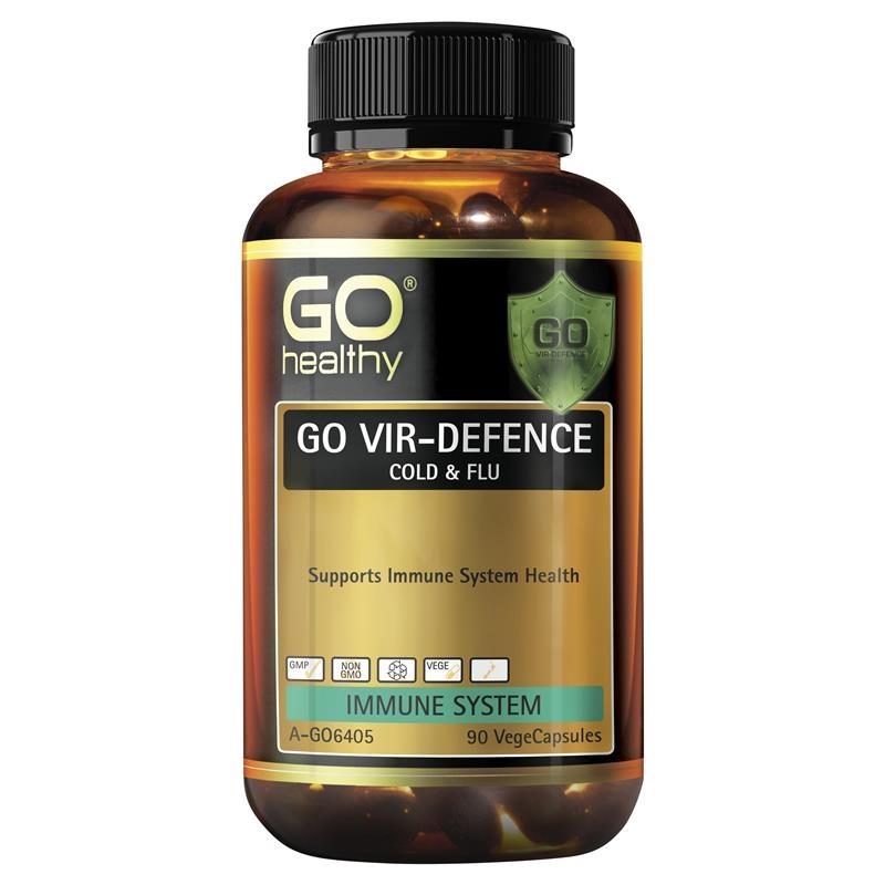 Go Healthy Vir-Defence 90 Vege Capsules