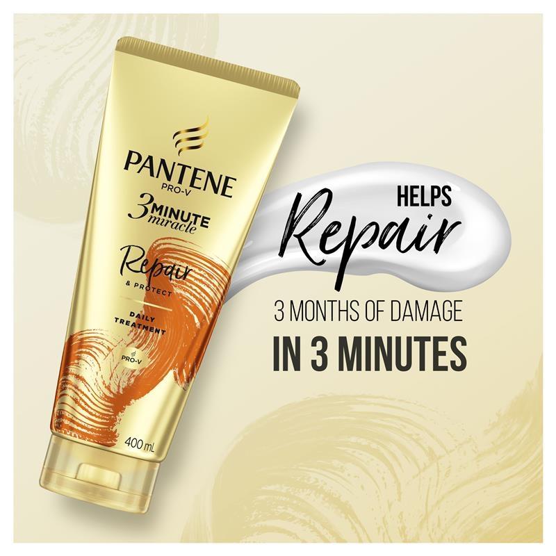 Pantene 3 Minute Miracle Repair & Protect Conditioner 180ml