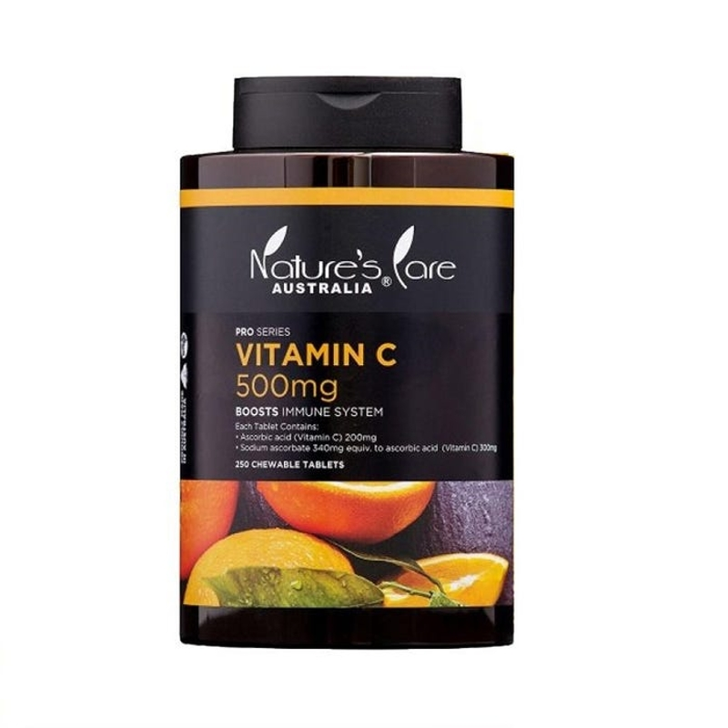 Nature's Care Pro Series Vitamin C 500mg Tab X 250