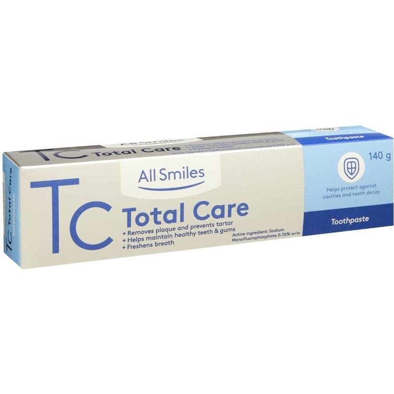 Kem đánh răng All Smiles Total Care Toothpaste 140g