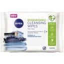 Khăn tẩy trang Nivea Refreshing Cleansing Face Wipe S + Vitamin E 25 pack
