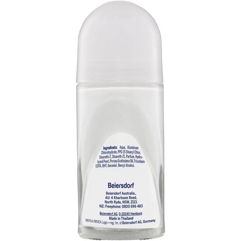 Lăn khử mùi Nivea Pearl & Beauty Roll On Antiperspirant Deodorant 50ml