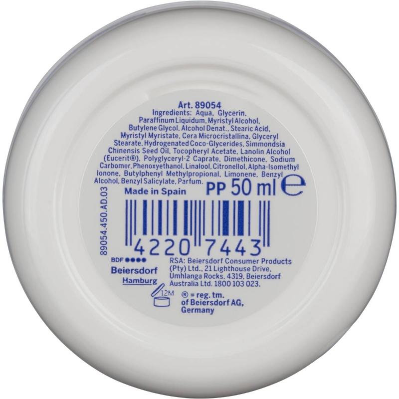 Kem dưỡng ẩm Nivea Soft Travel Mini Moisturiser Lotion Vitamin E & Jojoba 50ml