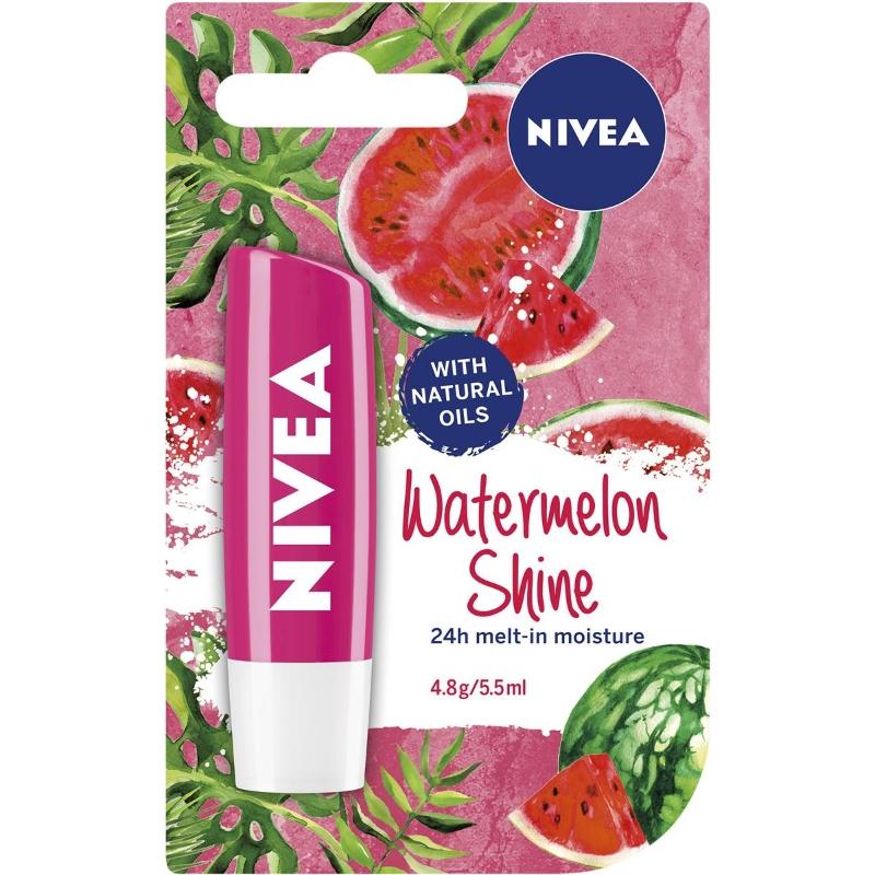Son dưỡng Nivea Lip Care Watermelon Shine 5.5ml