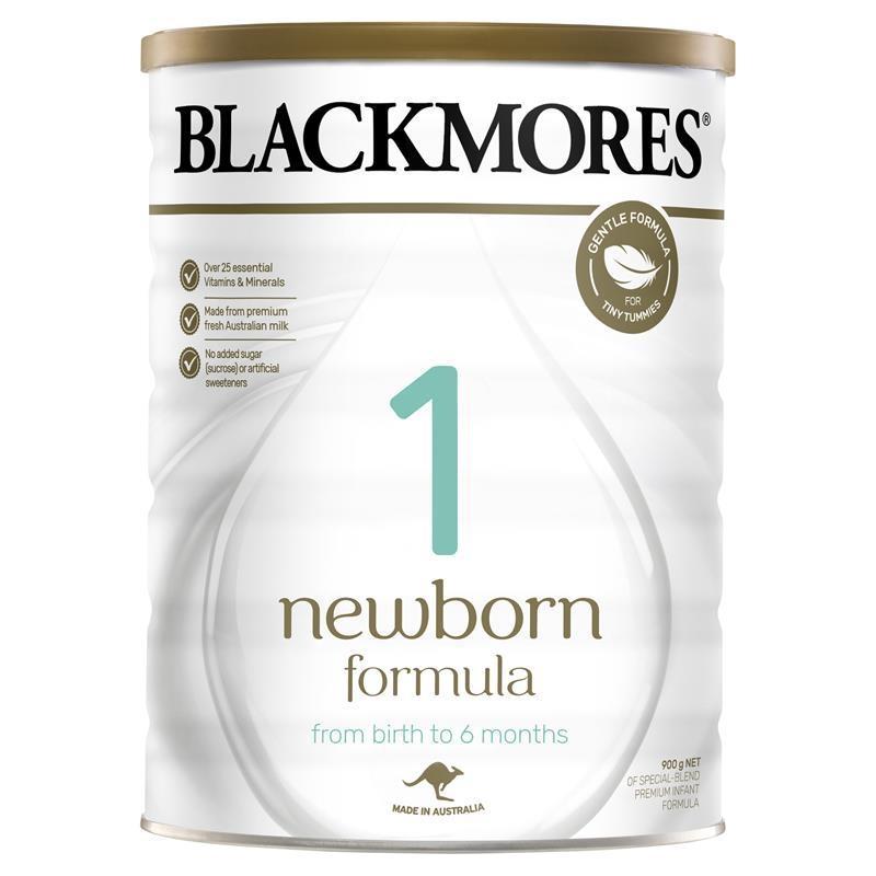 Sữa cho trẻ sơ sinh Blackmores 1 Newborn Formula 900g