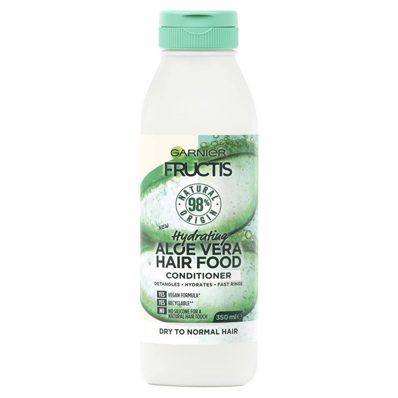 Dầu xả Garnier Fructis Hair Food Aloe Vera Conditioner 350ml (nha đam)