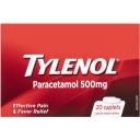 Thuốc giảm đau, hạ sốt - Tylenol Paracetamol 500mg 20 pack
