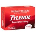 Thuốc giảm đau, hạ sốt - Tylenol Paracetamol 500mg Caplets X 50