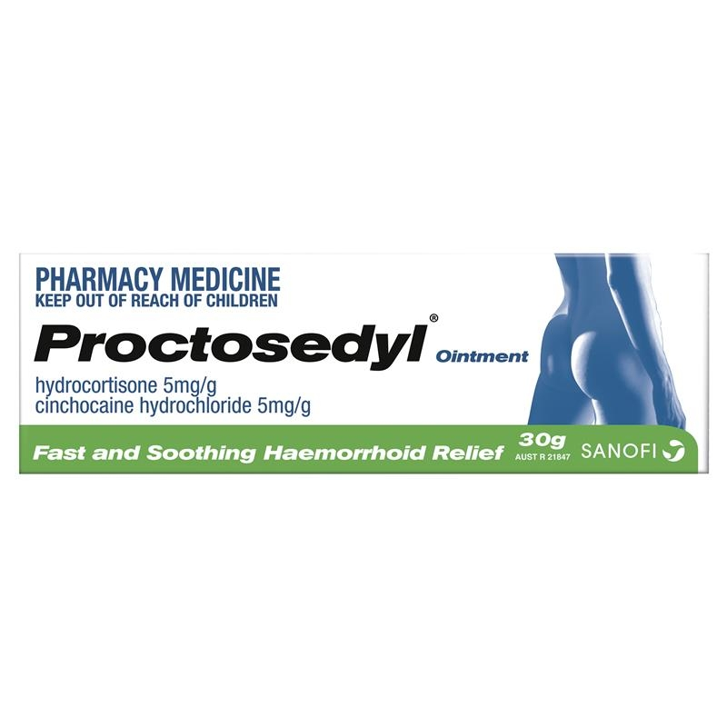 Proctosedyl Ointment 30g - Haemorrhoid Relief