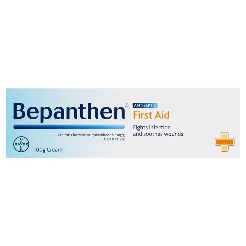 Kem bôi sát trùng vết thương Bepanthen First Aid Antiseptic Cream 100g