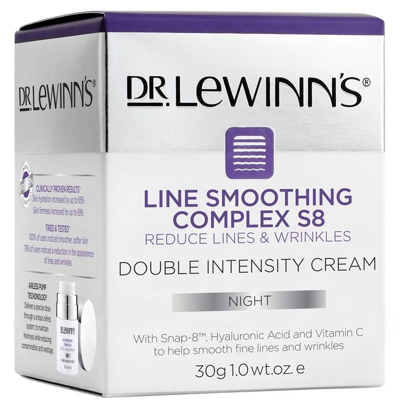 Kem dưỡng ẩm chống lão hóa ban đêm Dr LeWinn's Line Smoothing Complex S8 Double Intensity Night Cream 30g