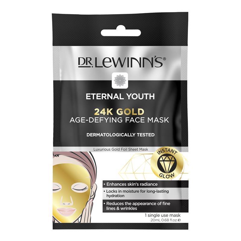 Mặt nạ vàng 24k Dr LeWinn's Eternal Youth 24k Gold Sheet Mask