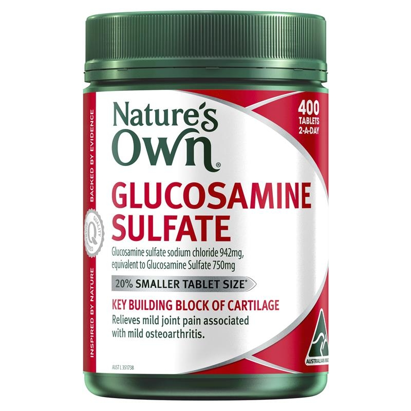 Nature's Own Glucosamine Sulfate 400 Tablets