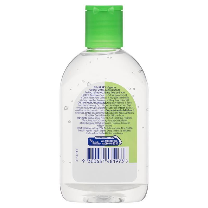 Nước rửa tay Dettol Healthy Touch Instant Hand Sanitiser Original 200ml