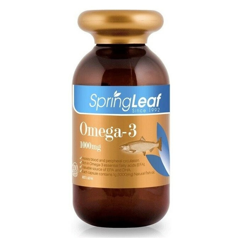 Spring Leaf Omega-3 1000mg Cap X 200