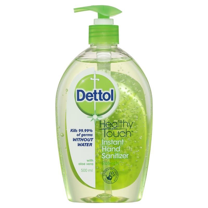 Nước rửa tay Dettol Healthy Touch Instant Hand Sanitiser Refresh 500ml