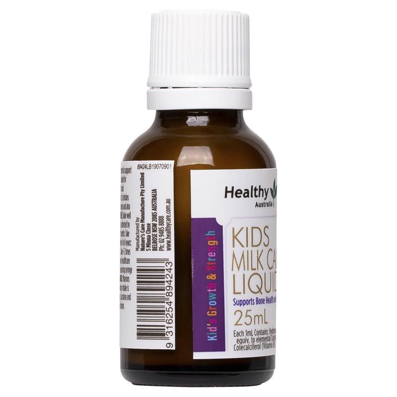 Healthy Care Kids Milk Calcium Liquid 25ml