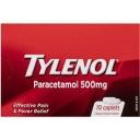 Tylenol Paracetamol 500mg 10 pack