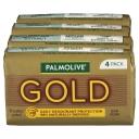 4 gói xà phòng tắm Palmolive Soap Bar Gold 90g 4 Pack