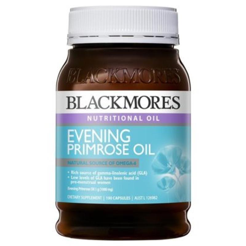 Tinh dầu hoa anh thảo Blackmores Evening Primrose Oil 190 caps
