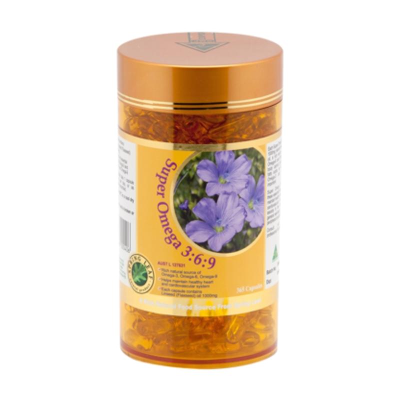 Viên uống bổ sung omega 3-6-9 Spring Leaf Super Omega 3:6:9 365caps