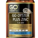 GO Healthy Oyster Plus Zinc 1-A-Day 120 Vege Capsules