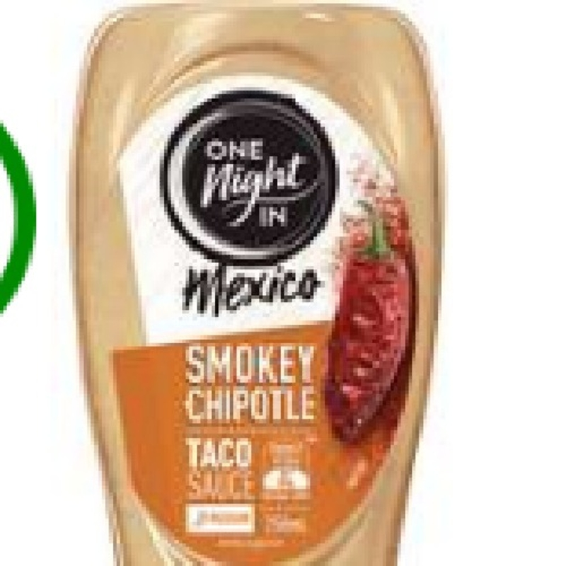 One Night In Mexico Smokey Chipotle Taco Sauce 250ml