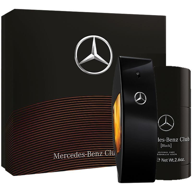 Mercedes Benz Club Black Eau De Toilette 100ml 2 Piece Set