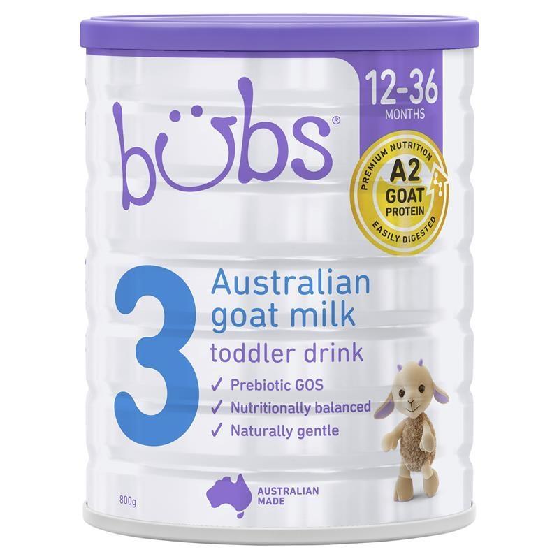Bubs Goat 3 Toddler Formula 800g