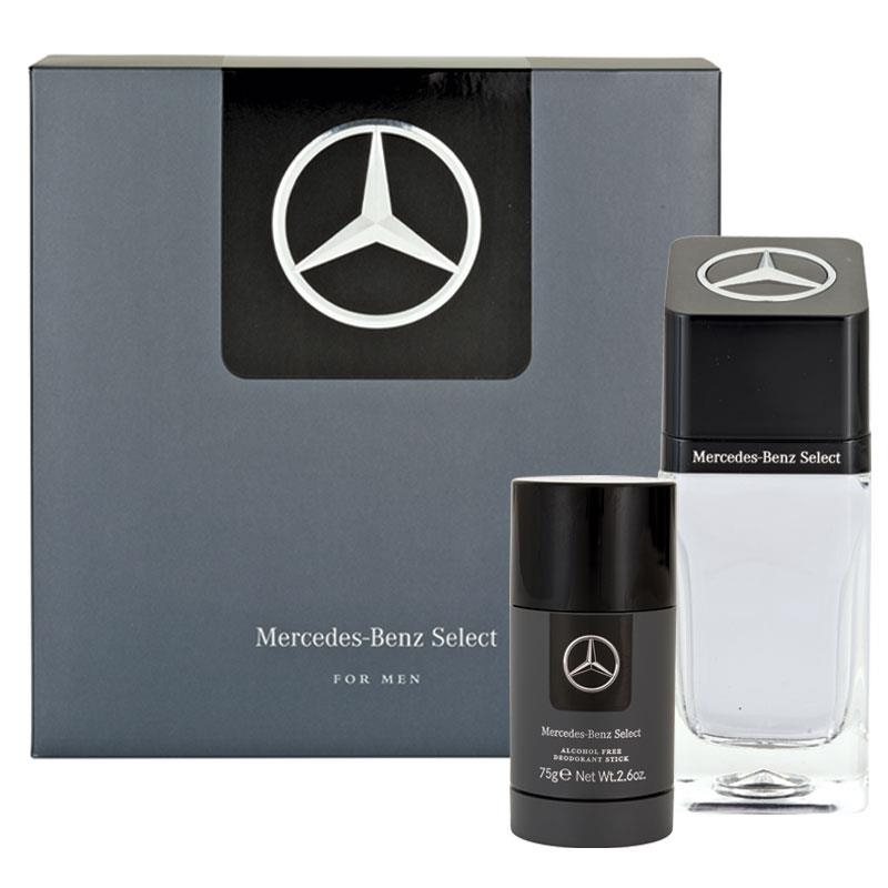 Mercedes Benz Select 100ml 2 Piece Set