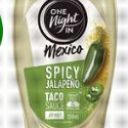 One Night In Mexico Spicy Jalapeno Taco Sauce 250ml
