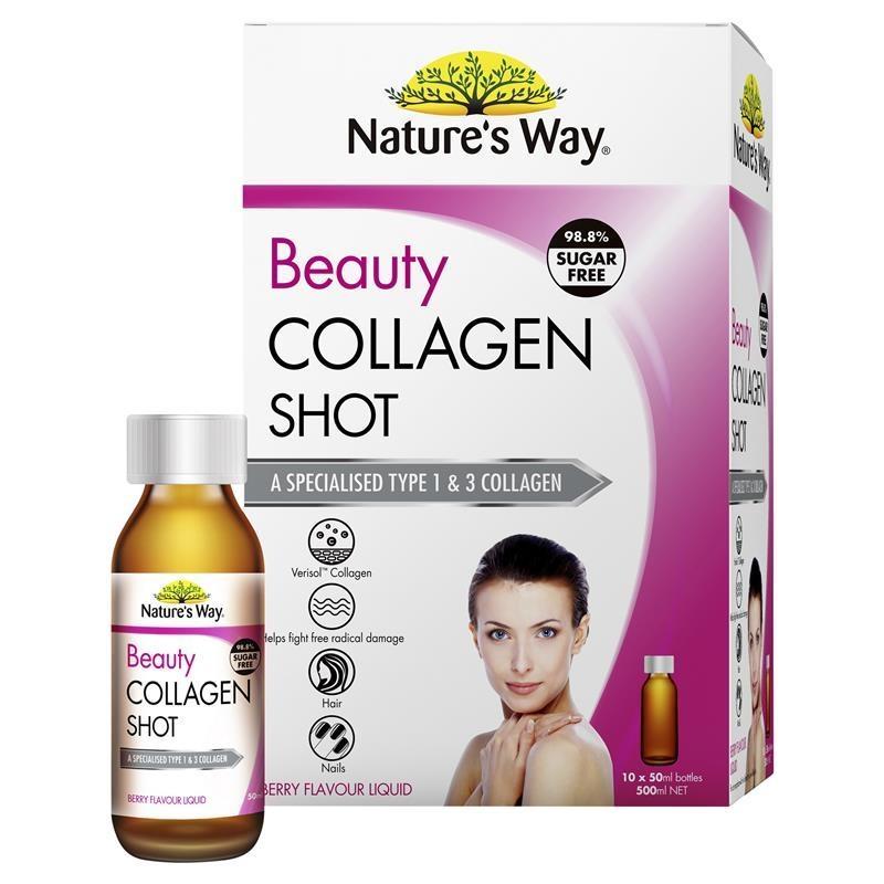 Nature's Way Beauty Collagen Shots 10 x 50ml