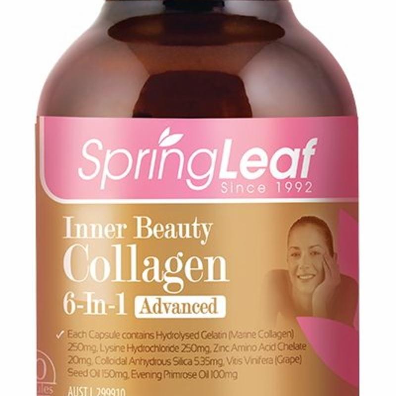 Viên uống bổ sung collagen Springleaf Collagen 90 capsules