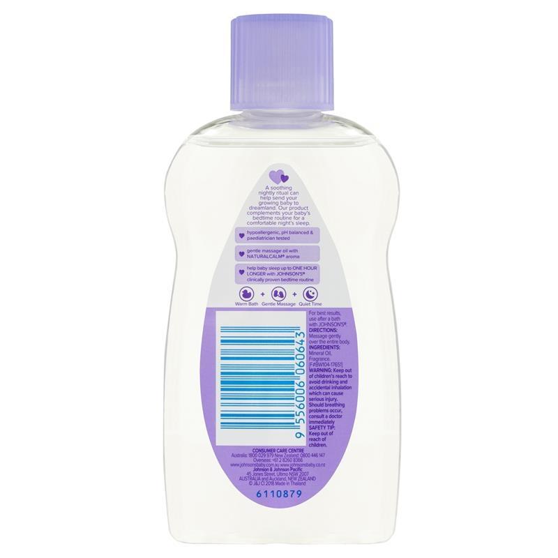 Sữa tắm Johnson's Baby Bedtime Oil 125mL