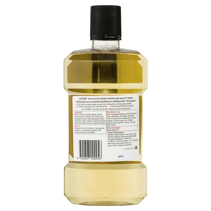 Listerine Gum Care Mouthwash 1 Litre